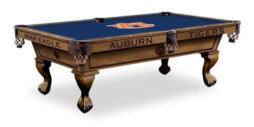 Auburn Tigers Pool Table