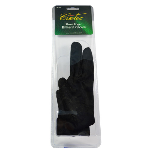 Cuetec Three Finger Billiard Glove
