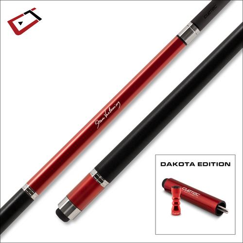 Cuetec Cynergy SVB Dakota Edition Cue Ruby Red