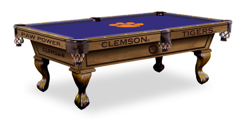 Clemson Tigers Pool Table