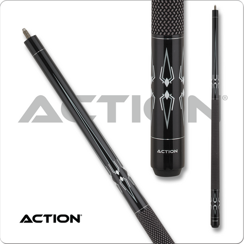 Action Black & White BW24 Pool Cue