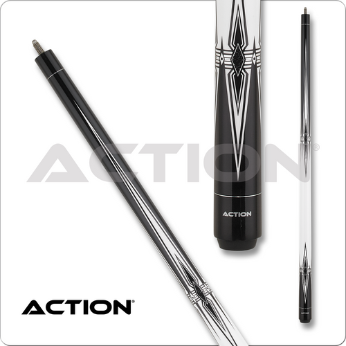Action Black & White BW25 Pool Cue