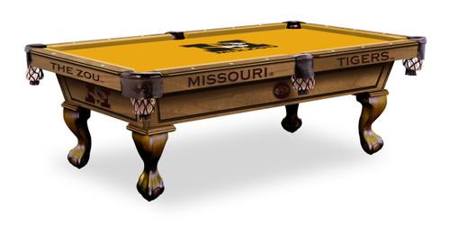 Missouri Tigers Pool Table