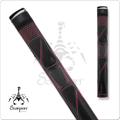 Scorpion SC22X 2x2 Pink Hard Cue Case