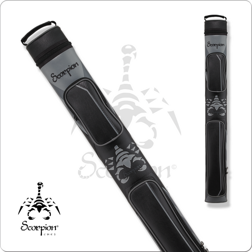 Scorpion SC22D 2x2 Grey Scorpion Hard Cue Case