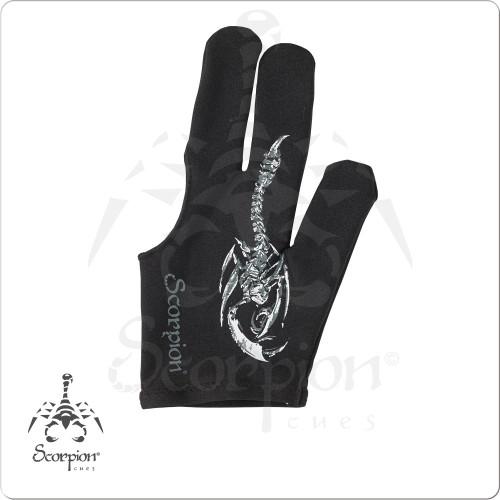 Scorpion BGLSC02 Glove - Bridge Hand Left