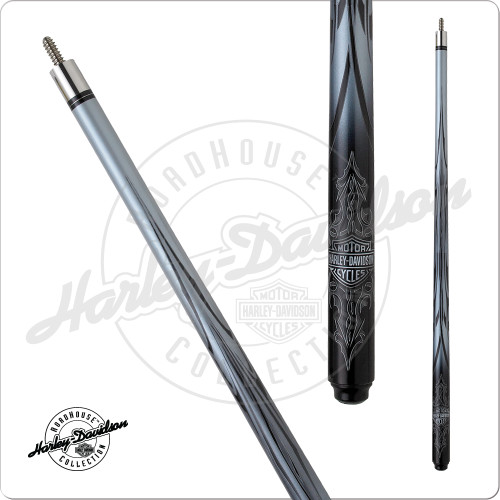 Harley Davidson HDL-11410 Tribal Graphite Pool Cue