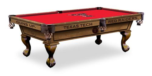 Texas Tech Red Raiders Pool Table
