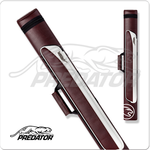 Predator Roadline 2x2 Burgundy/White Hard Case