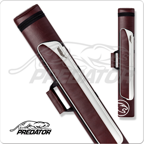 Predator Roadline 2x4 Burgundy/White Hard Case