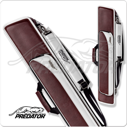 Predator Roadline 3x5 Burgundy/White Hard Case