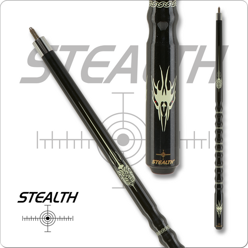 Stealth STH36 Black Ghost Pool Cue