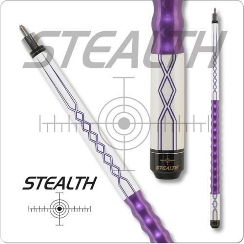 Stealth DEF-64 Purple Lightning Pool Cue