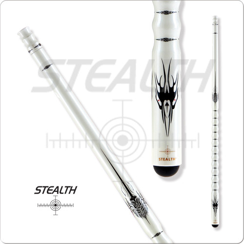 Stealth STH-11 White Ghost Pool Cue