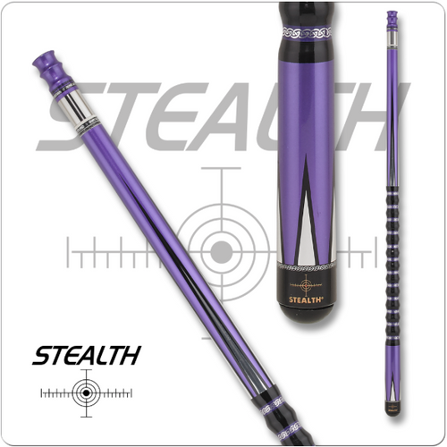 Stealth STH-14 Purple Phantom Pool Cue