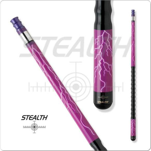 Stealth STH-15 Purple Lightning Pool Cue