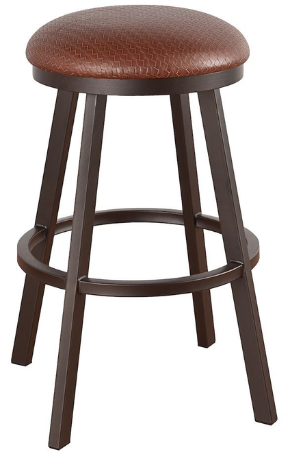 "Callee Ambridge Backless 30"" Bar Stool Sun Bronze Finish"