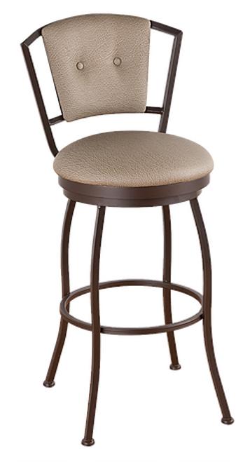 Callee Bristol Upholstered Back Bar Stool