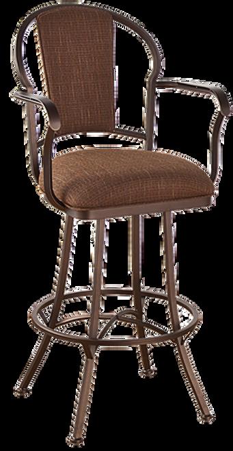 Callee Charleston Upholstered Back Bar Stool