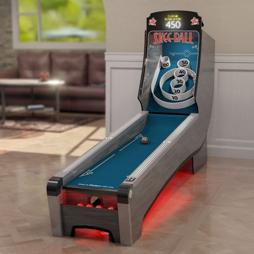Bay Tek Home Arcade Premium Skee-Ball with Indigo Cork
