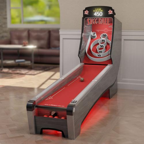 Bay Tek Home Arcade Premium Skee-Ball with Scarlet Cork