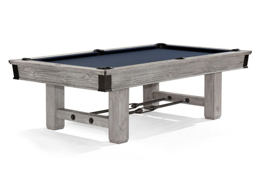 Brunswick Canton Pool Table Rustic Grey