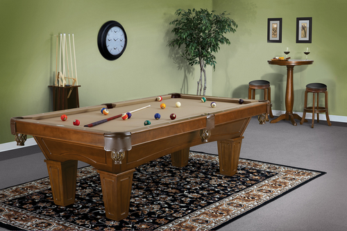 Brunswick Allenton Chestnut Pool Table