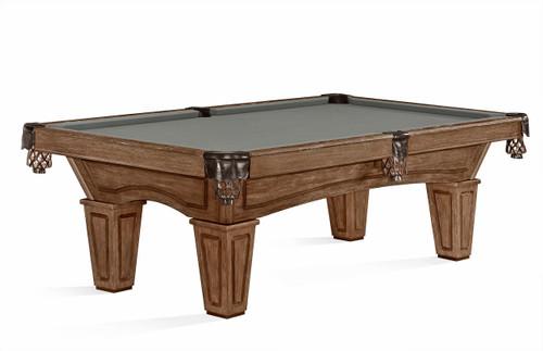 Brunswick Allenton Rustic Dark Brown Pool Table