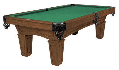 Imperial Resolute Whiskey Pool Table with Tapered Legs