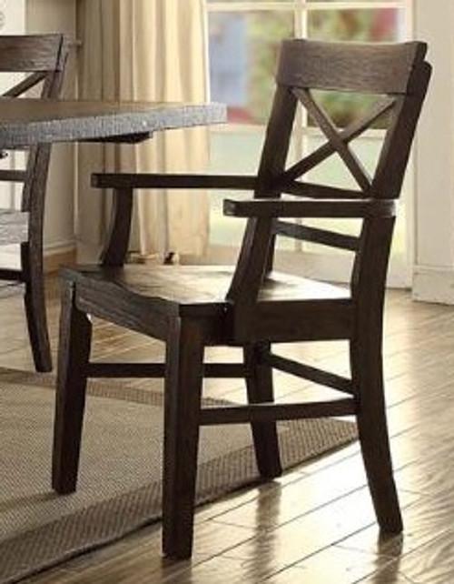 ECI Gettysburg X-Back Arm Chair