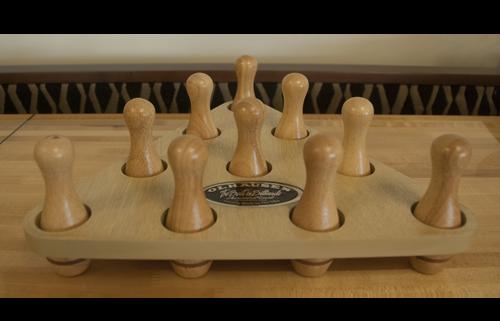 Olhausen Bowling Pin and Rack Set