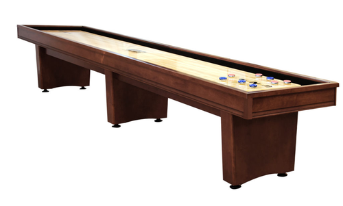 Olhausen York Shuffleboard Cinnamon on Maple