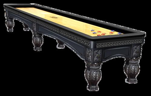 Olhausen Venetian Shuffleboard Matte Black Laquer on Maple