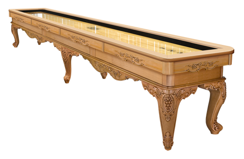 Olhausen Louis XIV Shuffleboard Butternut on Maple