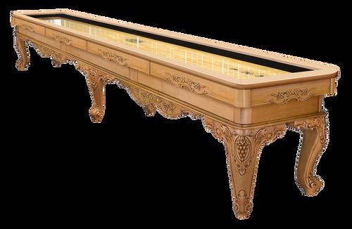 Olhausen Louis XIV Shuffleboard Butternut on Maple