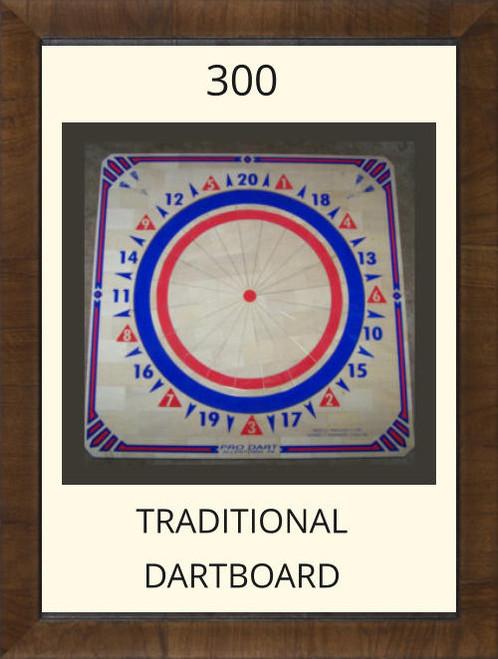 Pro Dart Red/Blue Dart Board #300