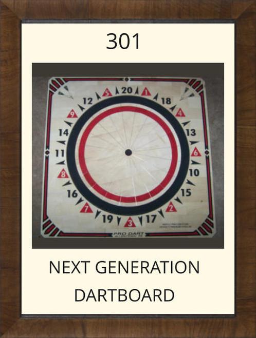 Pro Dart Red/Black Dart Board #301