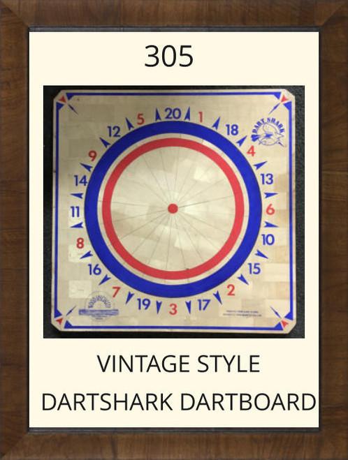 Pro Dart Dart Shark Vintage Style Dart Board #305