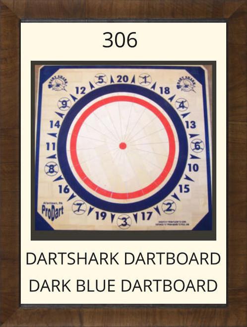 Pro Dart Dart Shark Dark Blue Dart Board #306