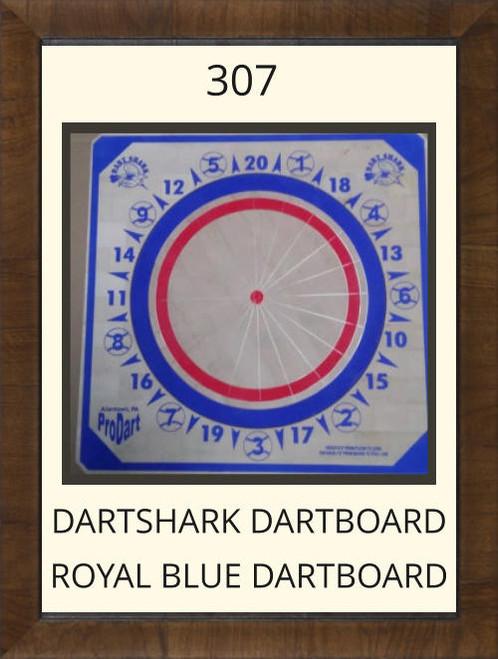 Pro Dart Dart Shark Royal Blue Dart Board #307