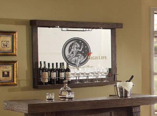 ECI Miller High Life Wall Bar With Mirror