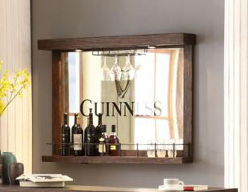 ECI Guinness Wall Bar With Mirror