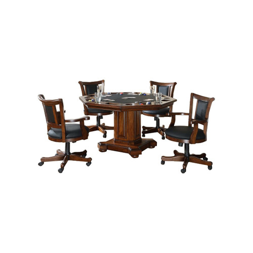 "Imperial 2-In-1 52"" Game Table with 4 Chair Set"
