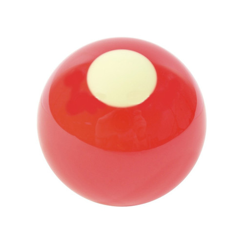 "Imperial 2-1/8"" White Spot Bumper Pool Ball"