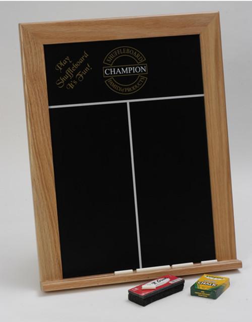 Sun-Glo Framed Chalk Scoreboard