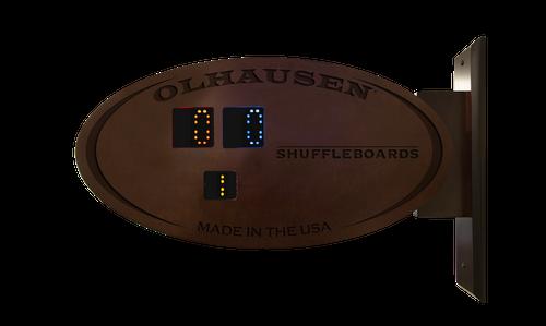 Olhausen Oval Scoring Unit - Post Mounted