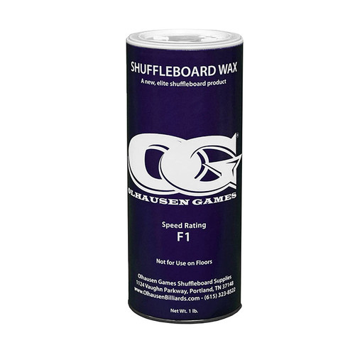 Olhausen F1 Shuffleboard Powder Wax - 16 oz. Can
