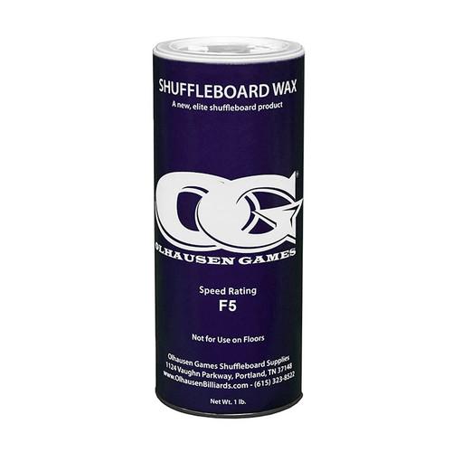 Olhausen F5 Shuffleboard Powder Wax - 16 oz. Can