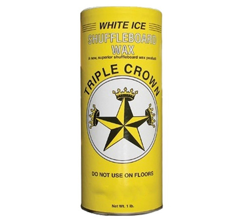 Triple Crown White Ice Shuffleboard Powder Wax - 16 oz. Can