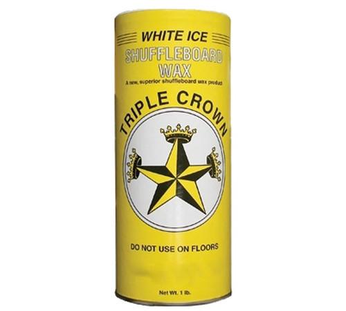 Triple Crown White Ice Shuffleboard Powder Wax - 16 oz. Can